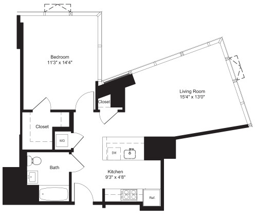 One Bedroom- H 7-10, 17-19