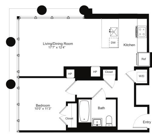 One Bedroom H 13