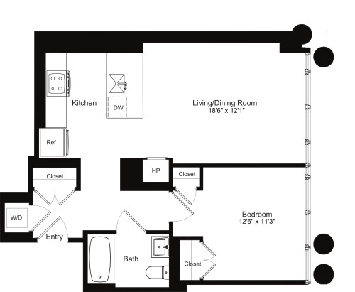 One Bedroom G 4