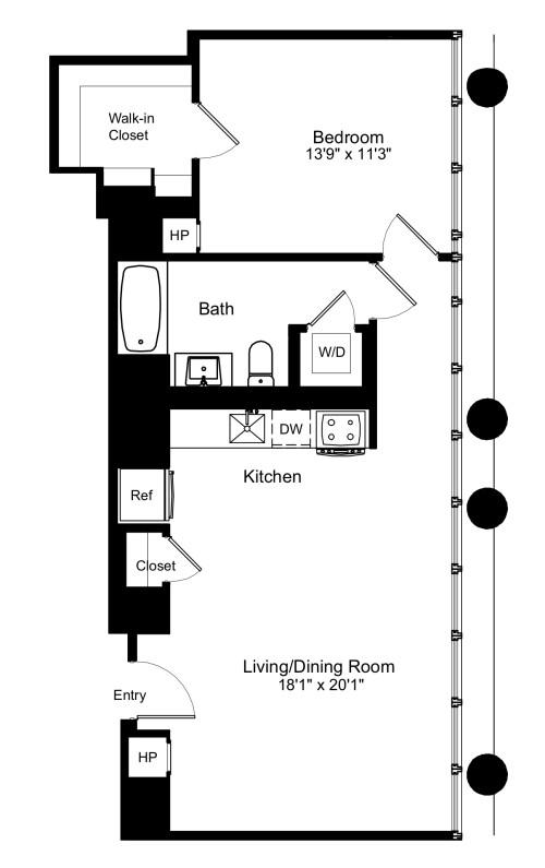 One Bedroom G 14