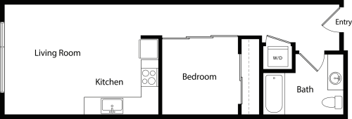 Urban One Bedroom C