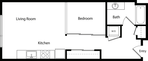 Urban One Bedroom A