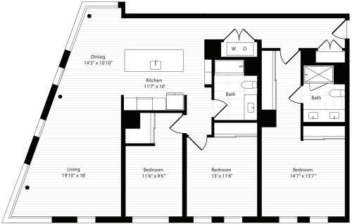 3 Bedroom A