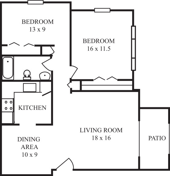 Deluxe separate dining room