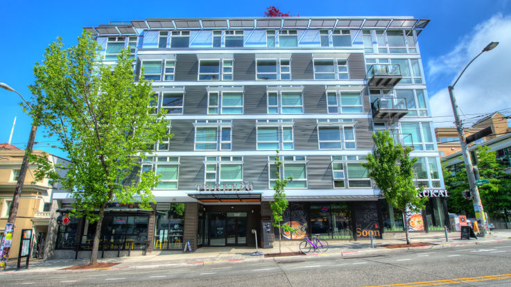Alcyone Apartments is South Lake Union Seattle 301 Minor Ave