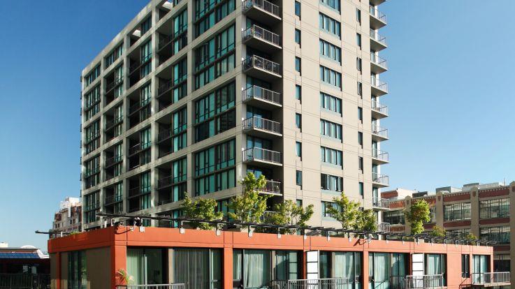 Harbor Steps Apartments - Exterior