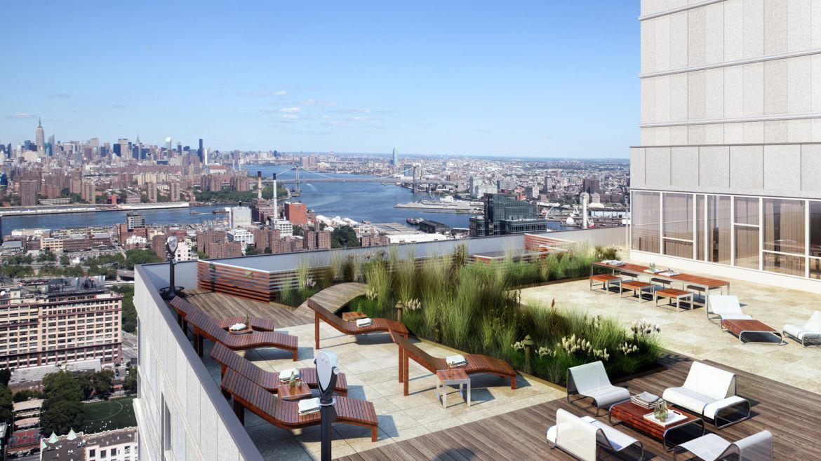 The Brooklyner Apartments - Rooftop Lounge