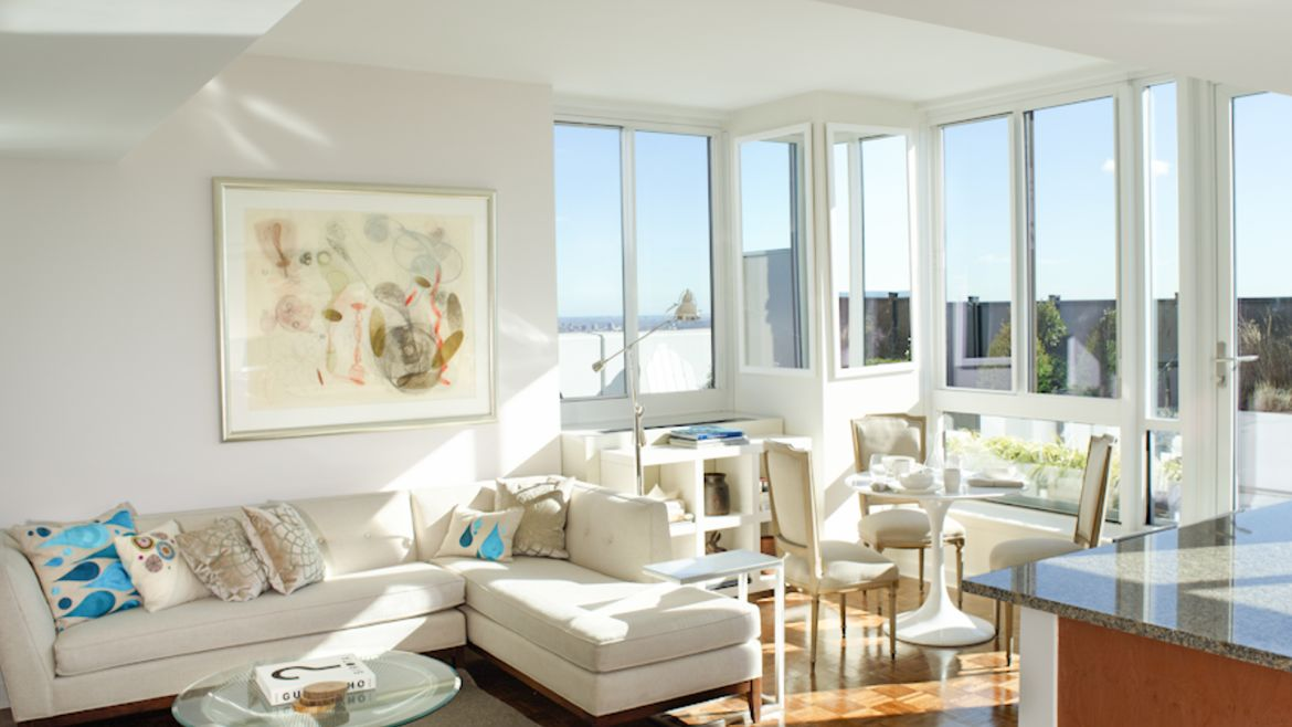 The Brooklyner Apartments - Living Room