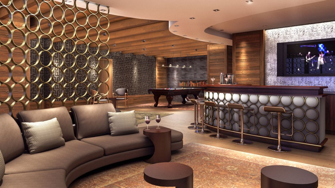 The Brooklyner Apartments - Resident Lounge