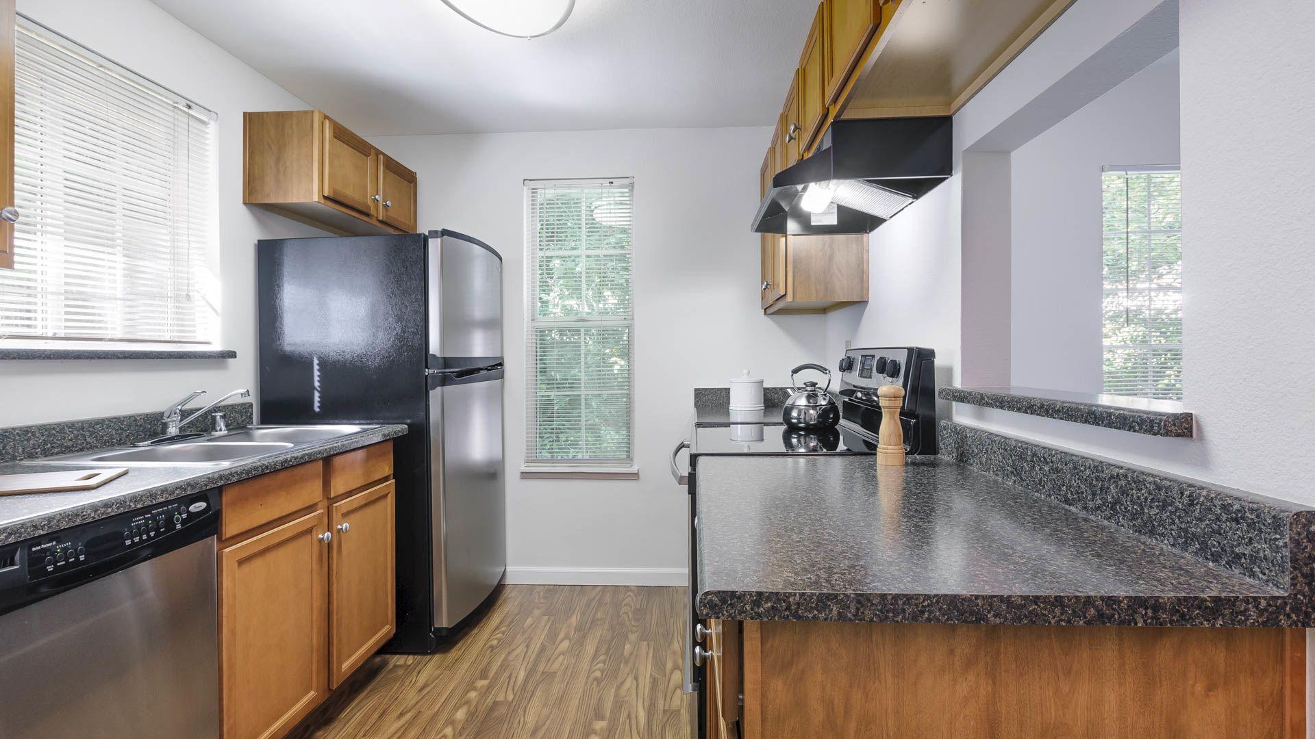 Surrey Downs Apartments - Kitchen