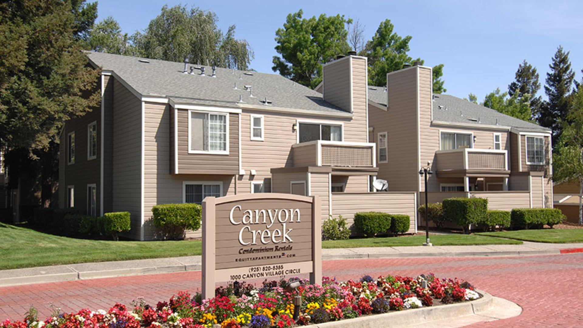 Canyon Creek Apartments Exterior