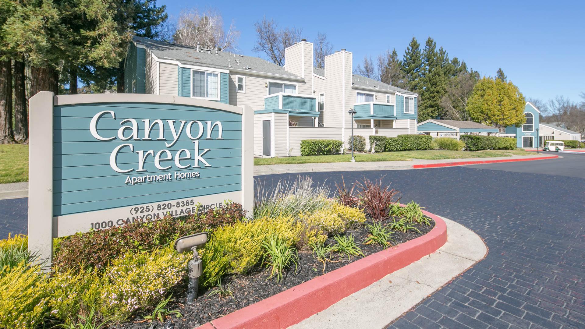 Canyon Creek Apartments - Exterior