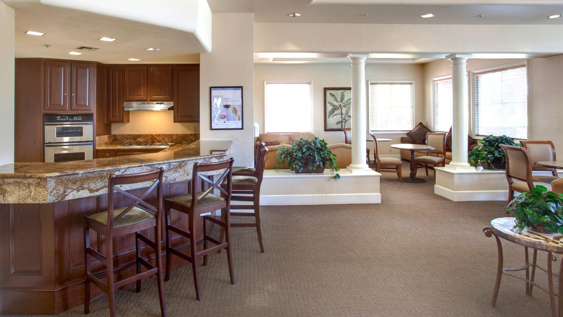 Toscana Apartments Resident Lounge