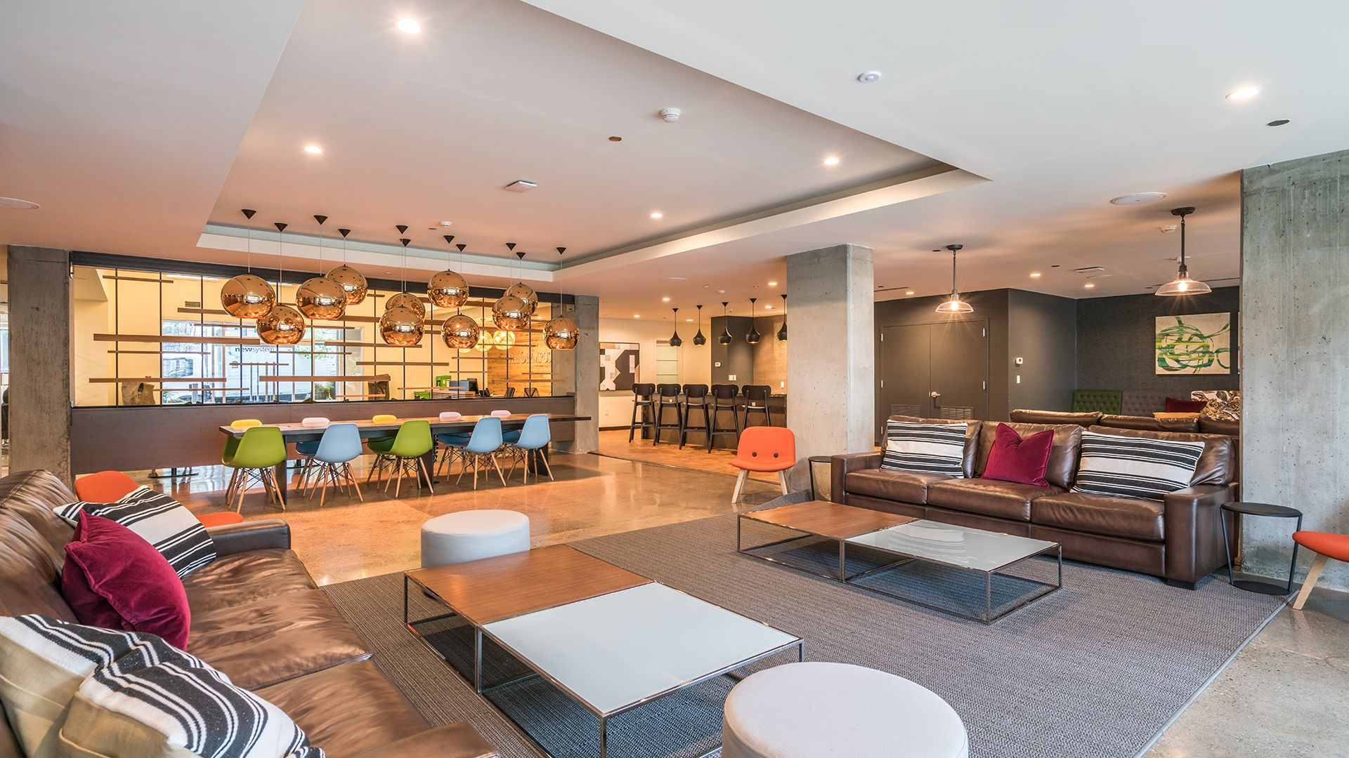 Olympus Apartments - Reception