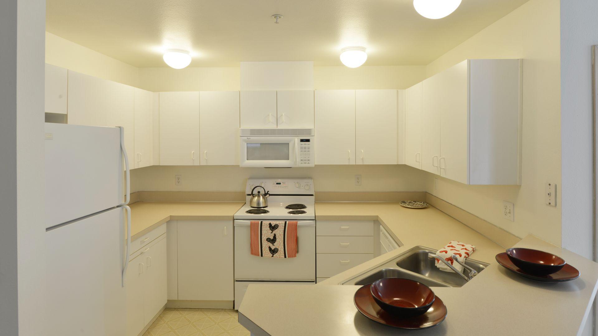 Ivorywood Apartments - Kitchen