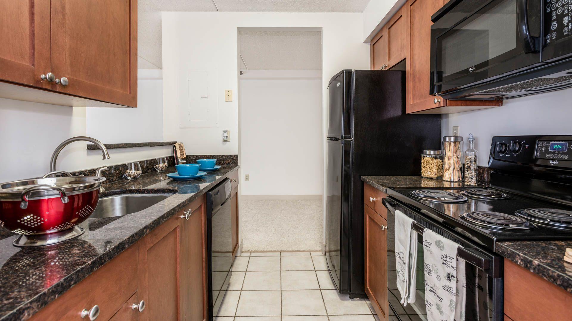Church Corner Apartments - Kitchen