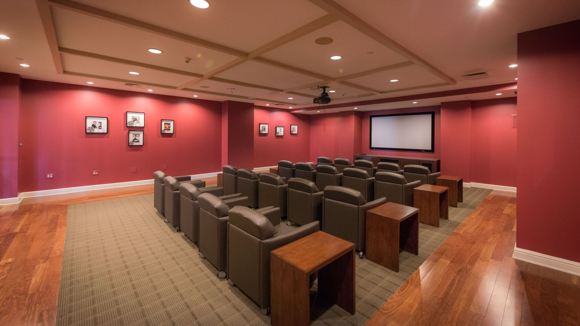 Longview Place Apartments - Theater Room