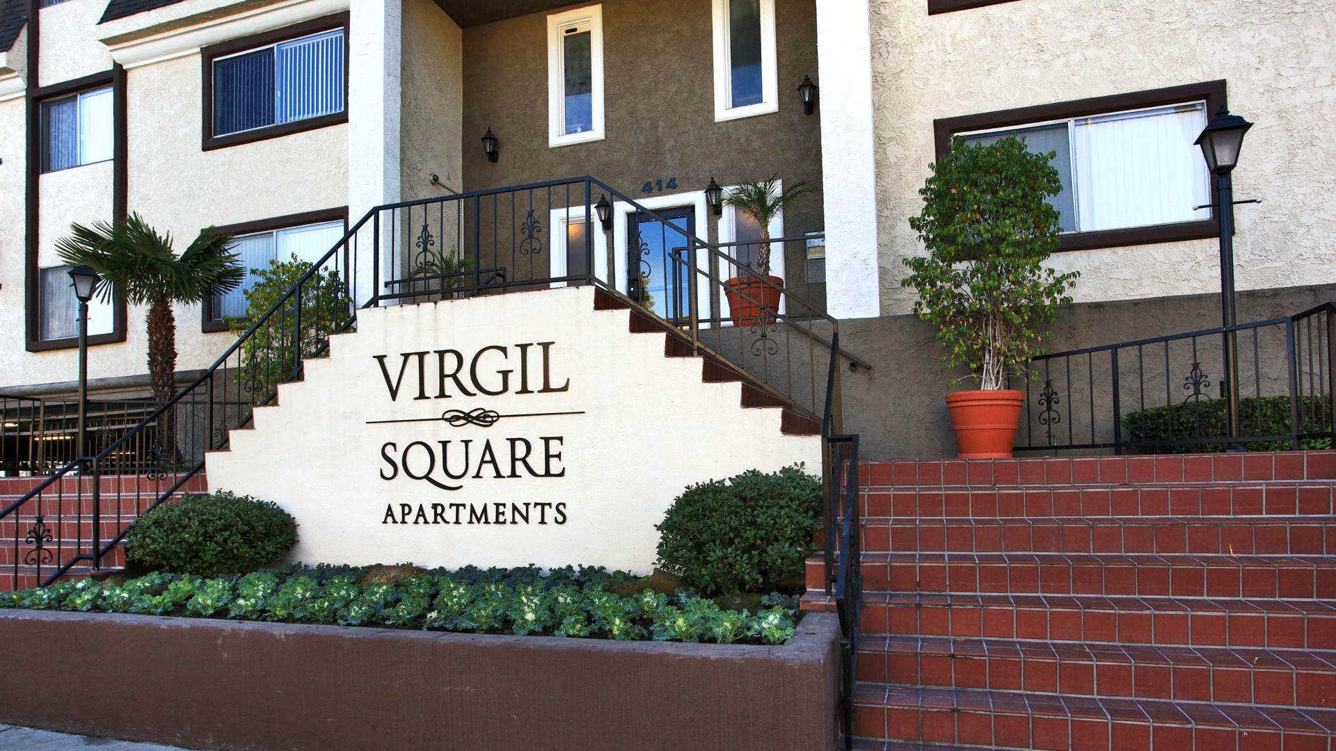 Virgil Square - Entrance