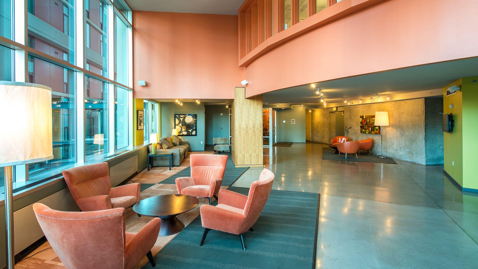 Harbor Steps Apartments - Lobby