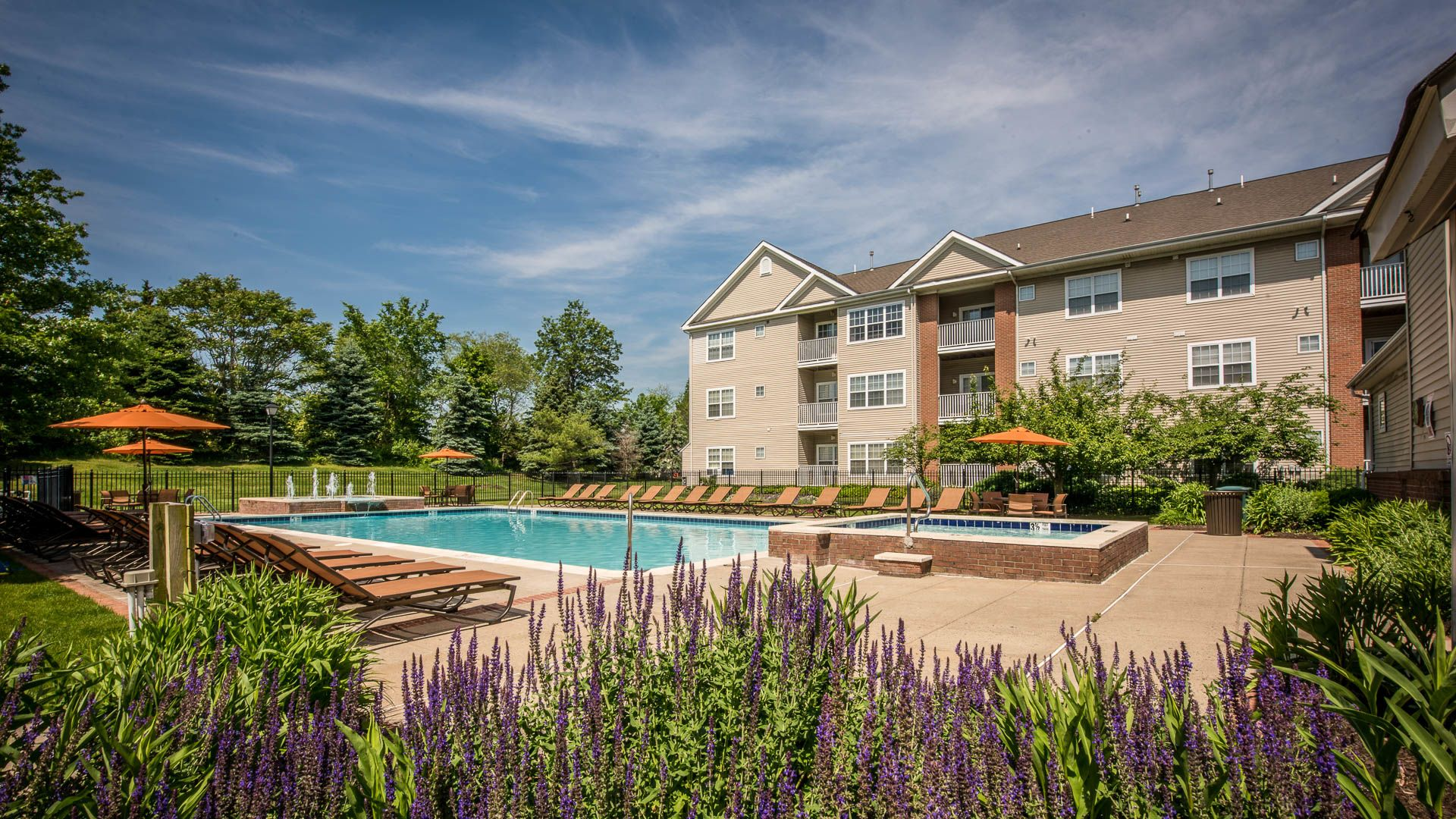 The Highlands at South Plainfield Apartments - Swimming Pool