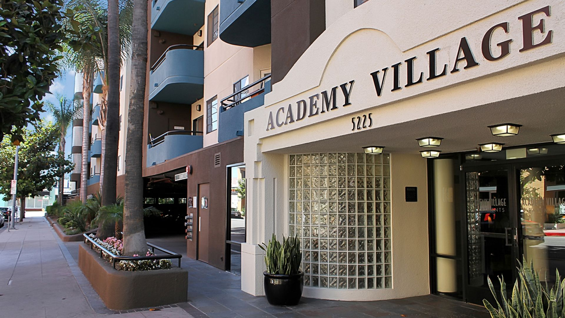Academy Village - Entrance