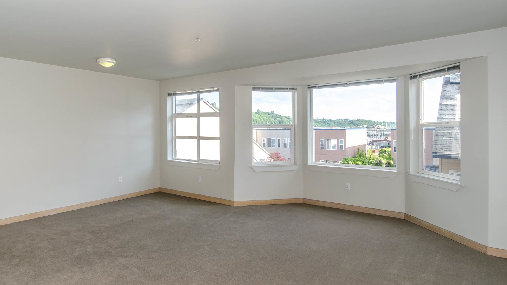 Uwajimaya Village Apartments - Living Room