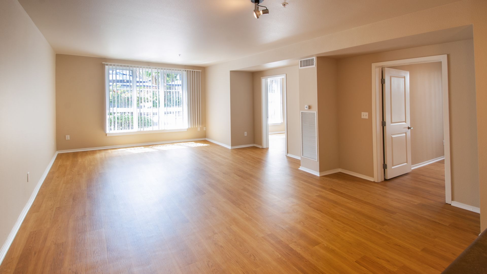 Market Street Village Apartments - Living Room