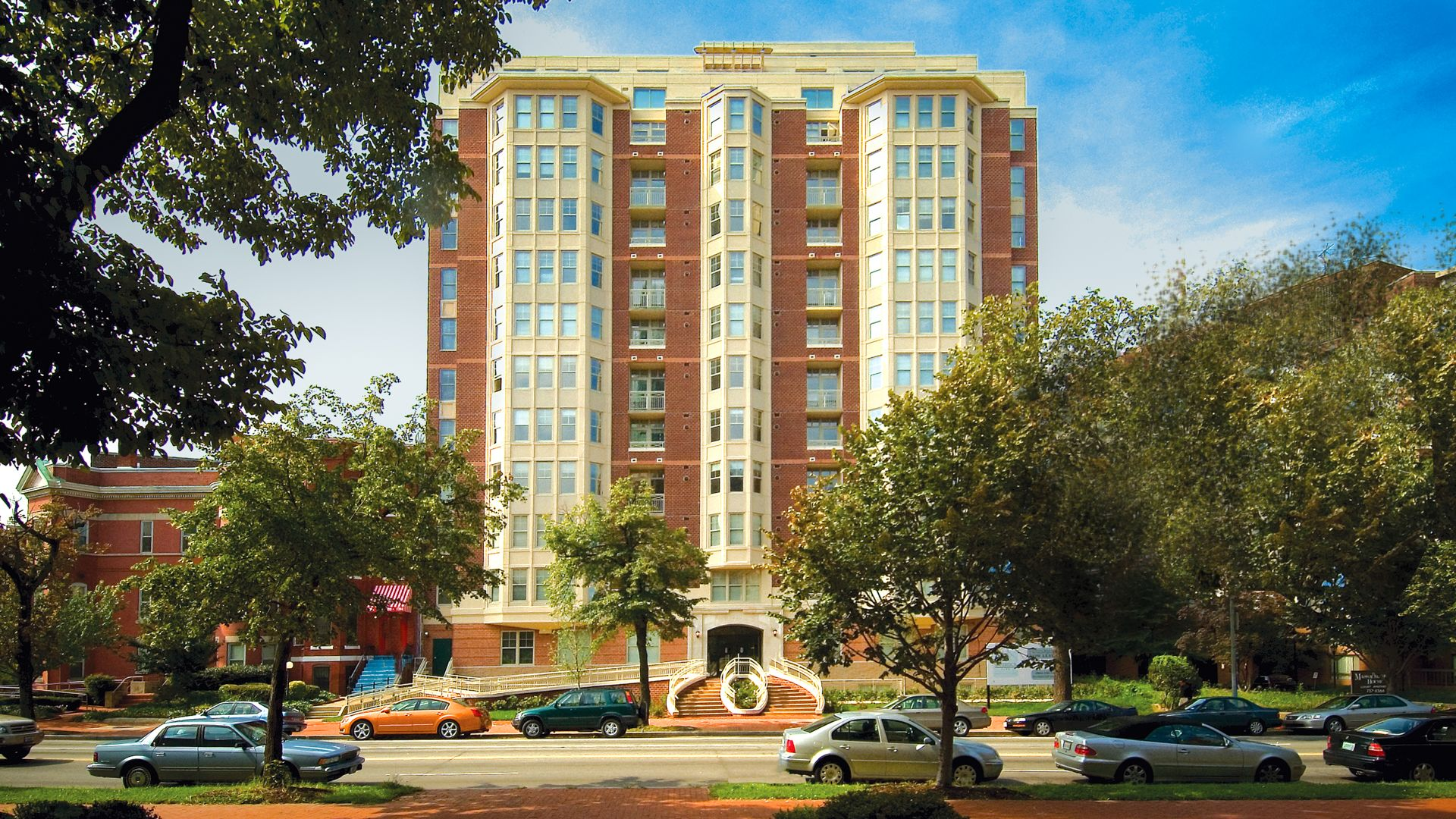 1210 Mass Apartments   Building