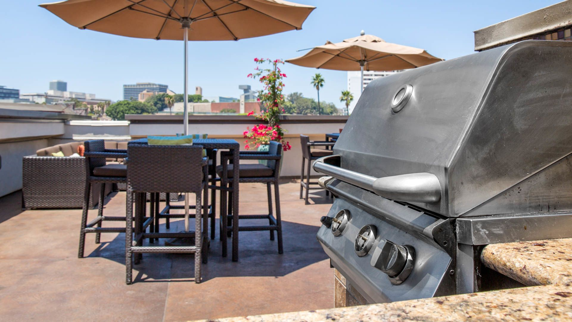 Mozaic at Union Station Apartments - Rooftop