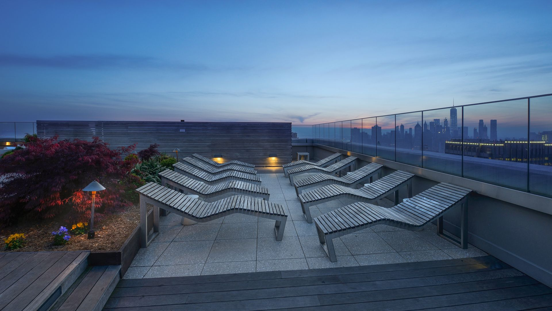 The Brooklyner Apartments - Rooftop