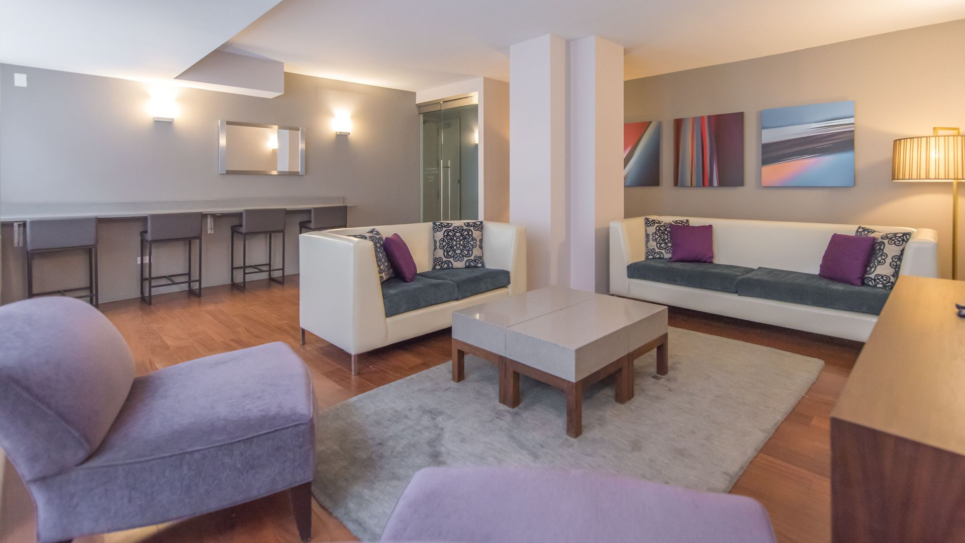 Longacre House Apartments - Resident Lounge