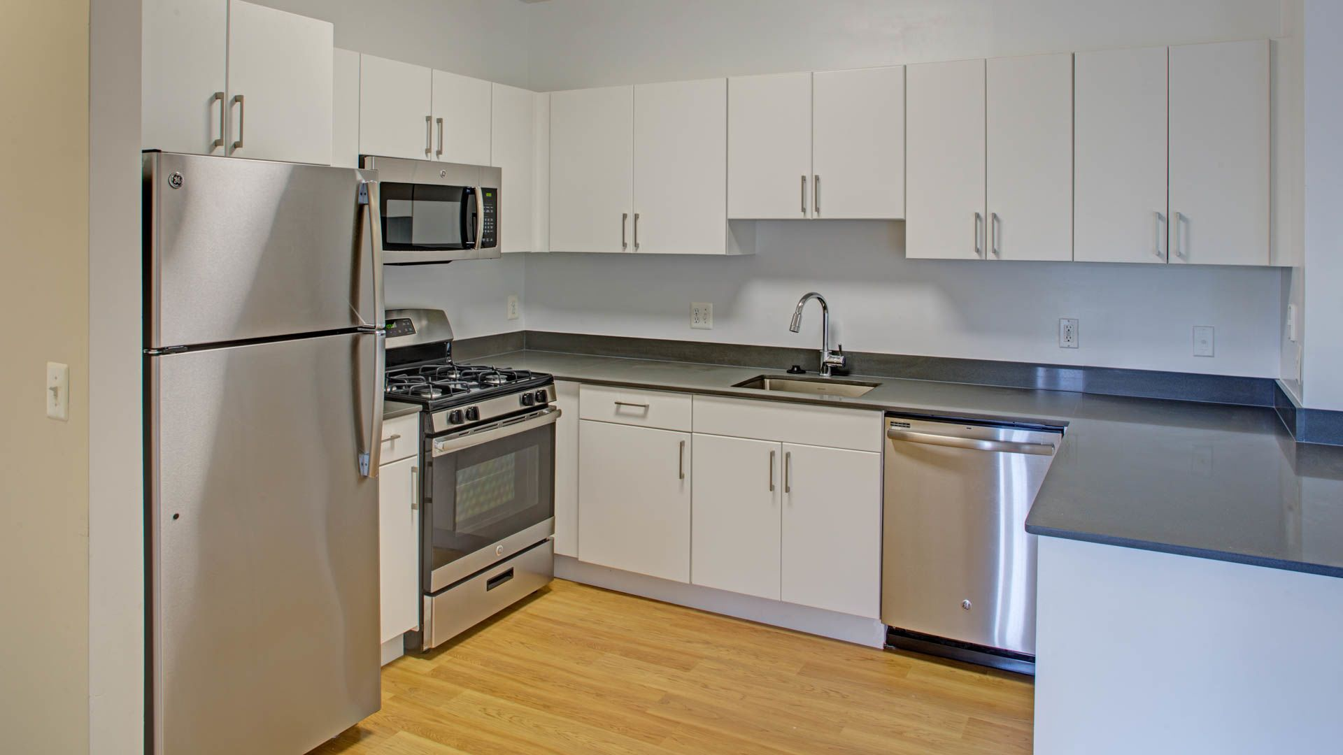 Town Square at Mark Center Apartments - Kitchen