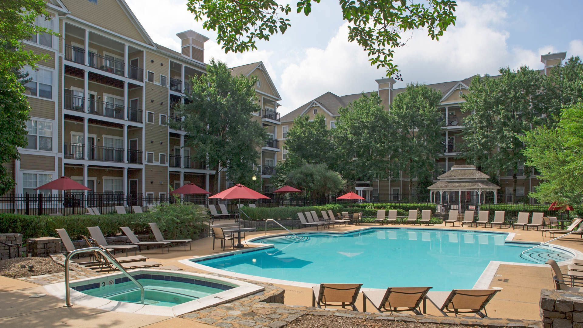 Town Square at Mark Center Apartments - Swimming Pool
