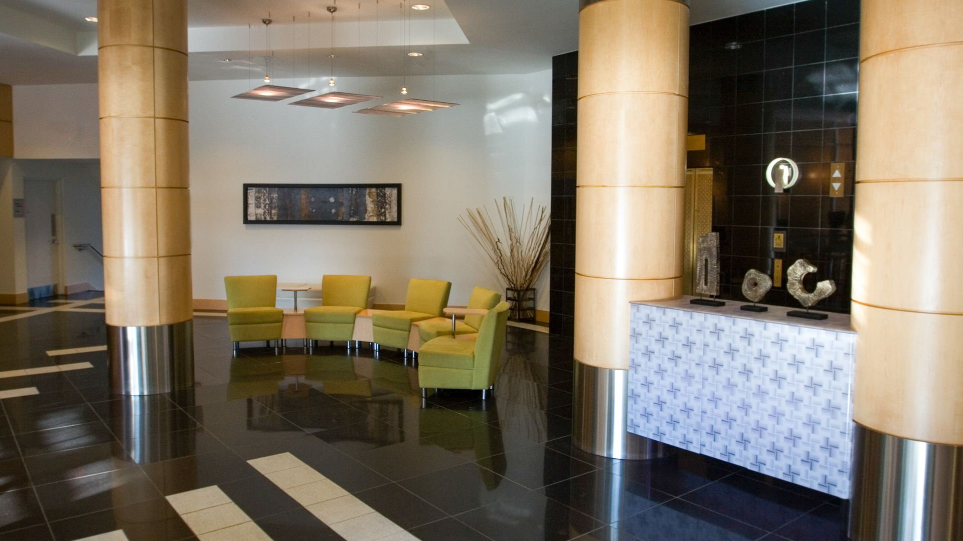 Park at Pentagon Row Apartments - Lobby