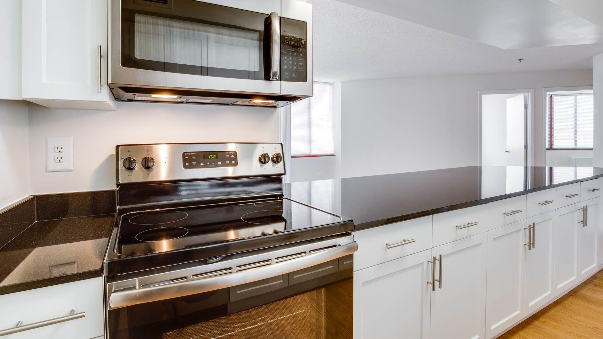 Park at Pentagon Row Apartments - Kitchen