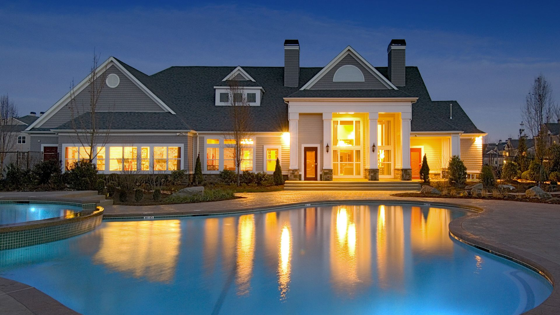 Quarry Hills Apartments - Clubhouse and Swimming Pool