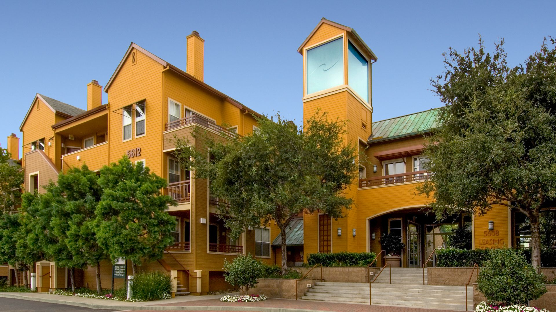 City Gate at Cupertino Apartments - Building
