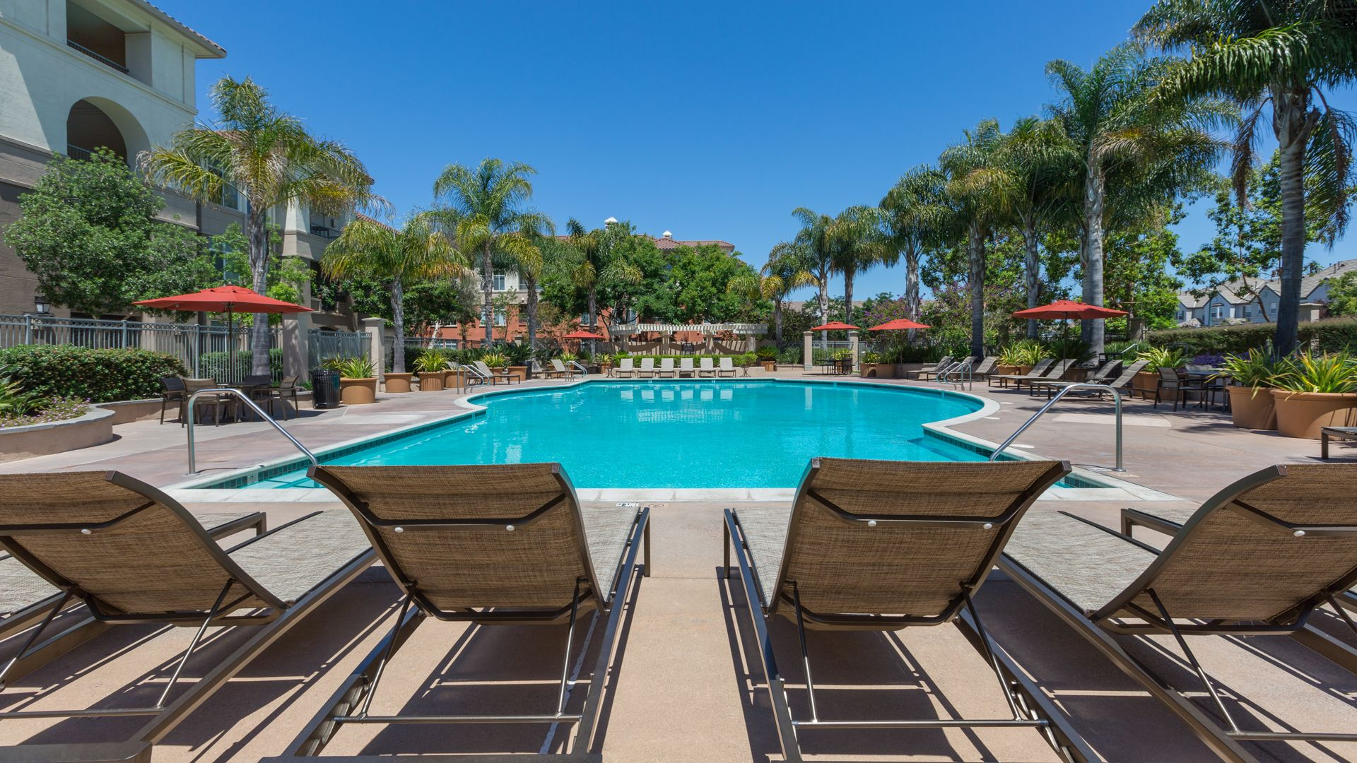 Park Place at San Mateo Apartments - Pool