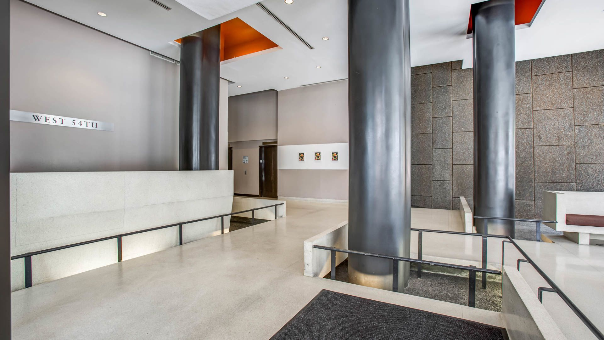 West 54th Apartments - Lobby
