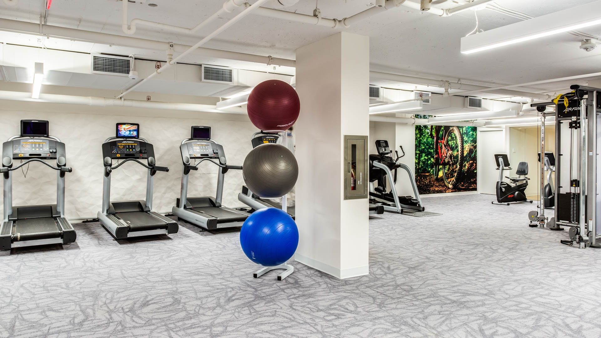 3003 Van Ness Apartments - Fitness Center