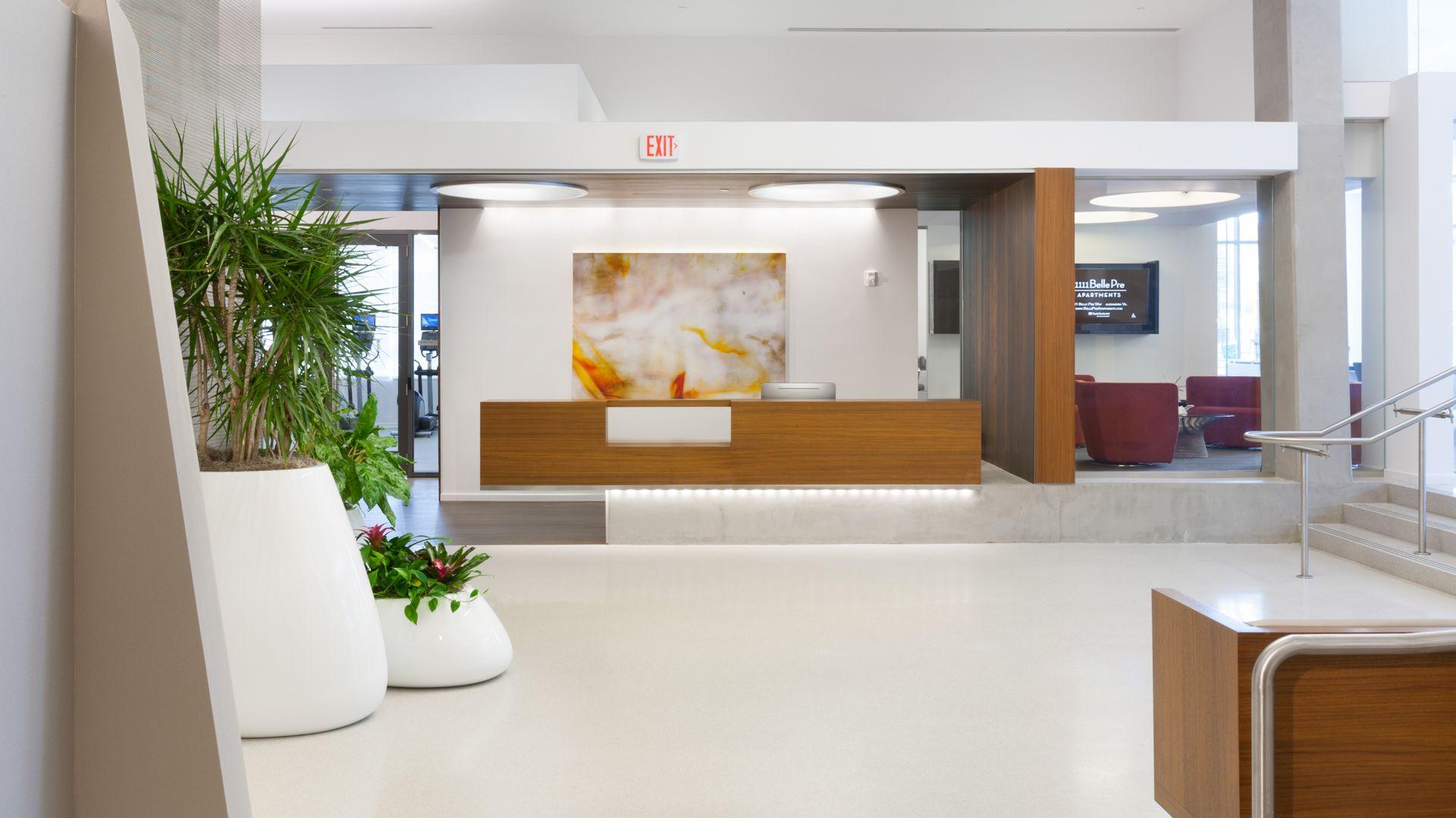 1111 Belle Pre Apartments - Lobby