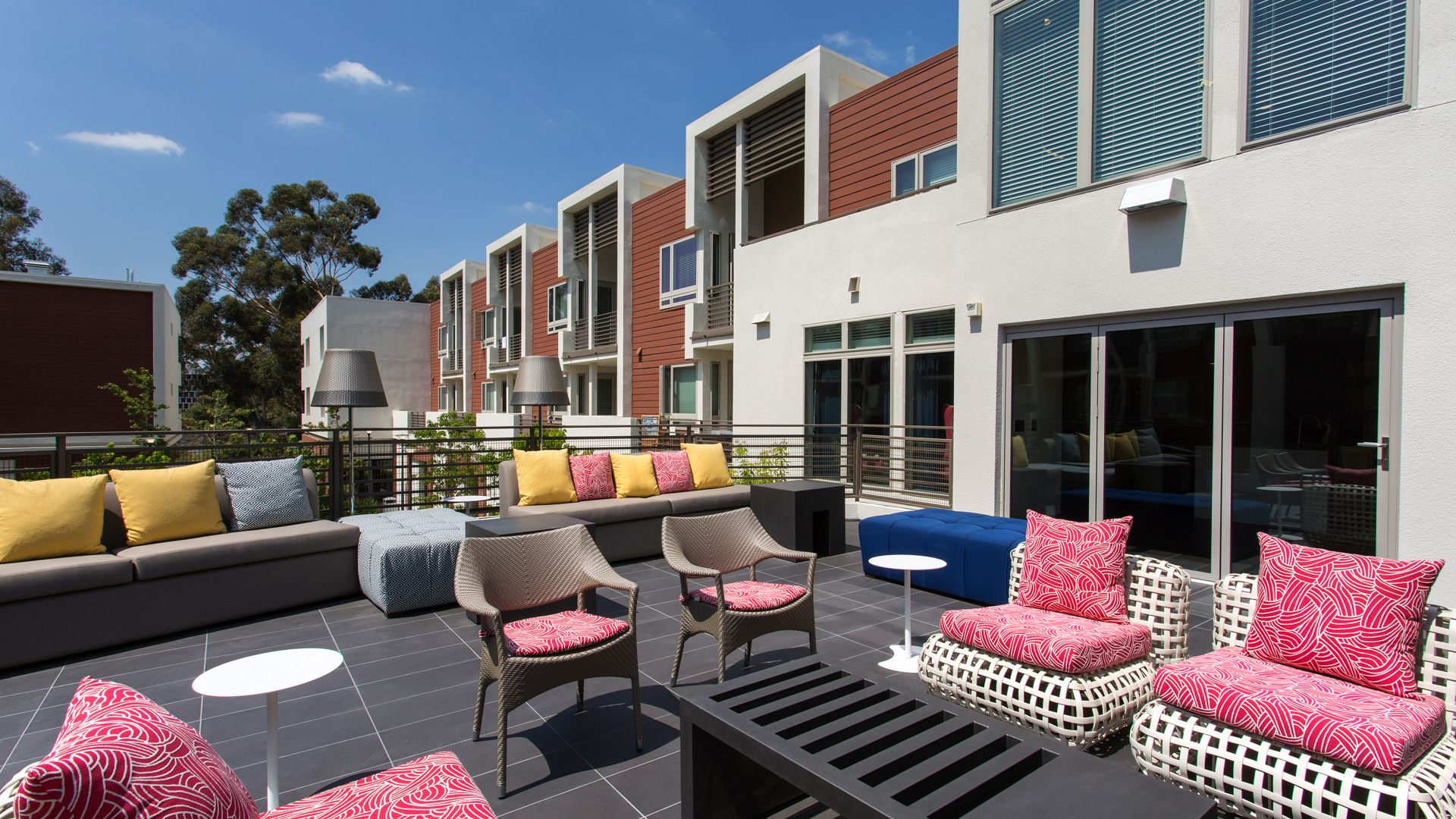 Residences at Westgate Apartments - Courtyard