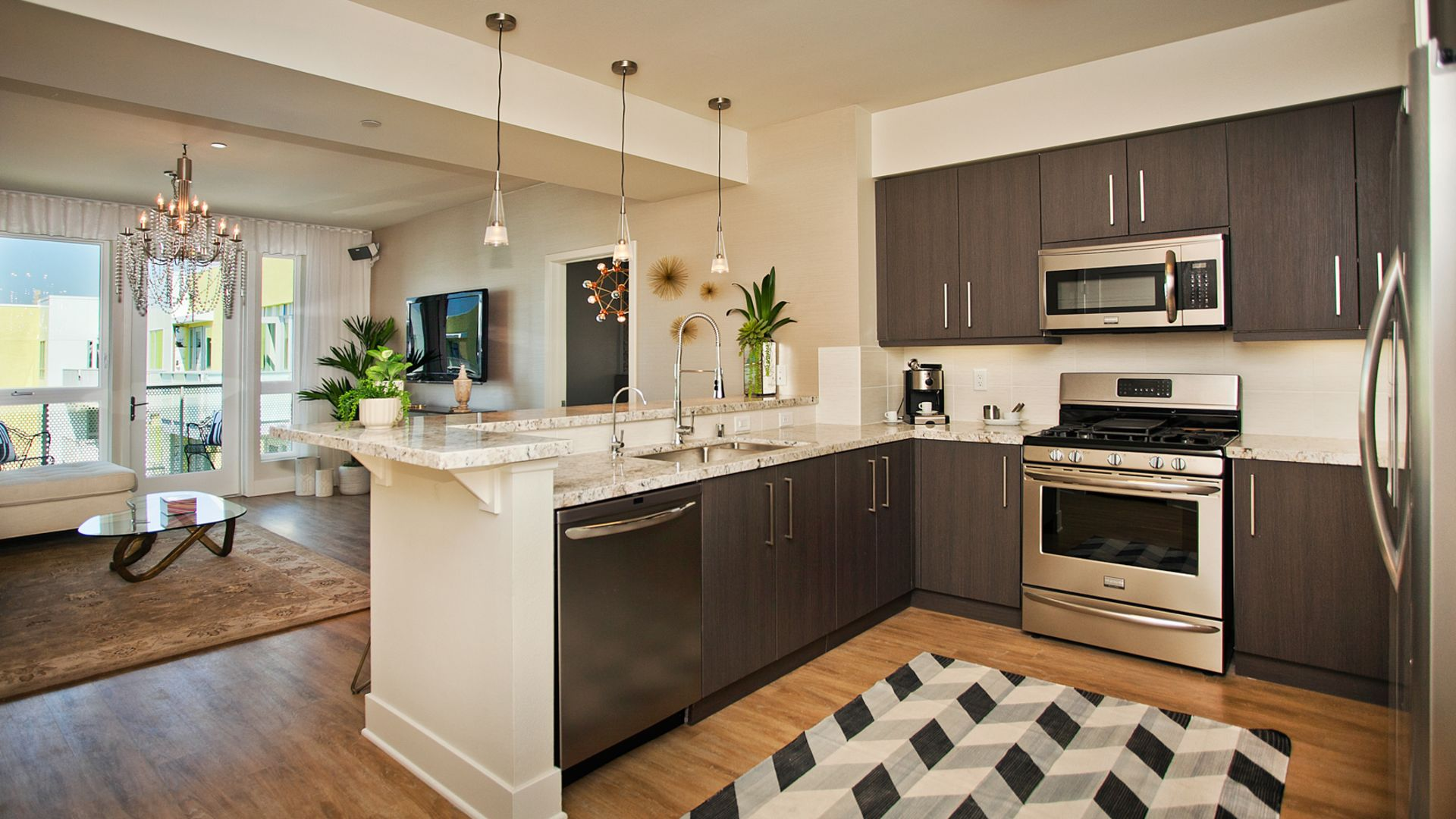 The Hesby Apartments - Kitchen