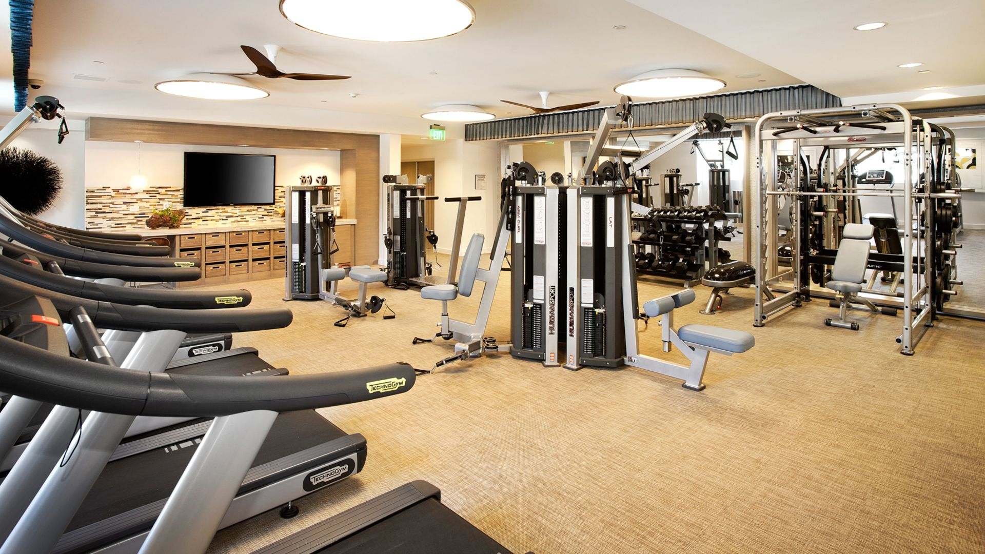 The Hesby Apartments - Fitness Center
