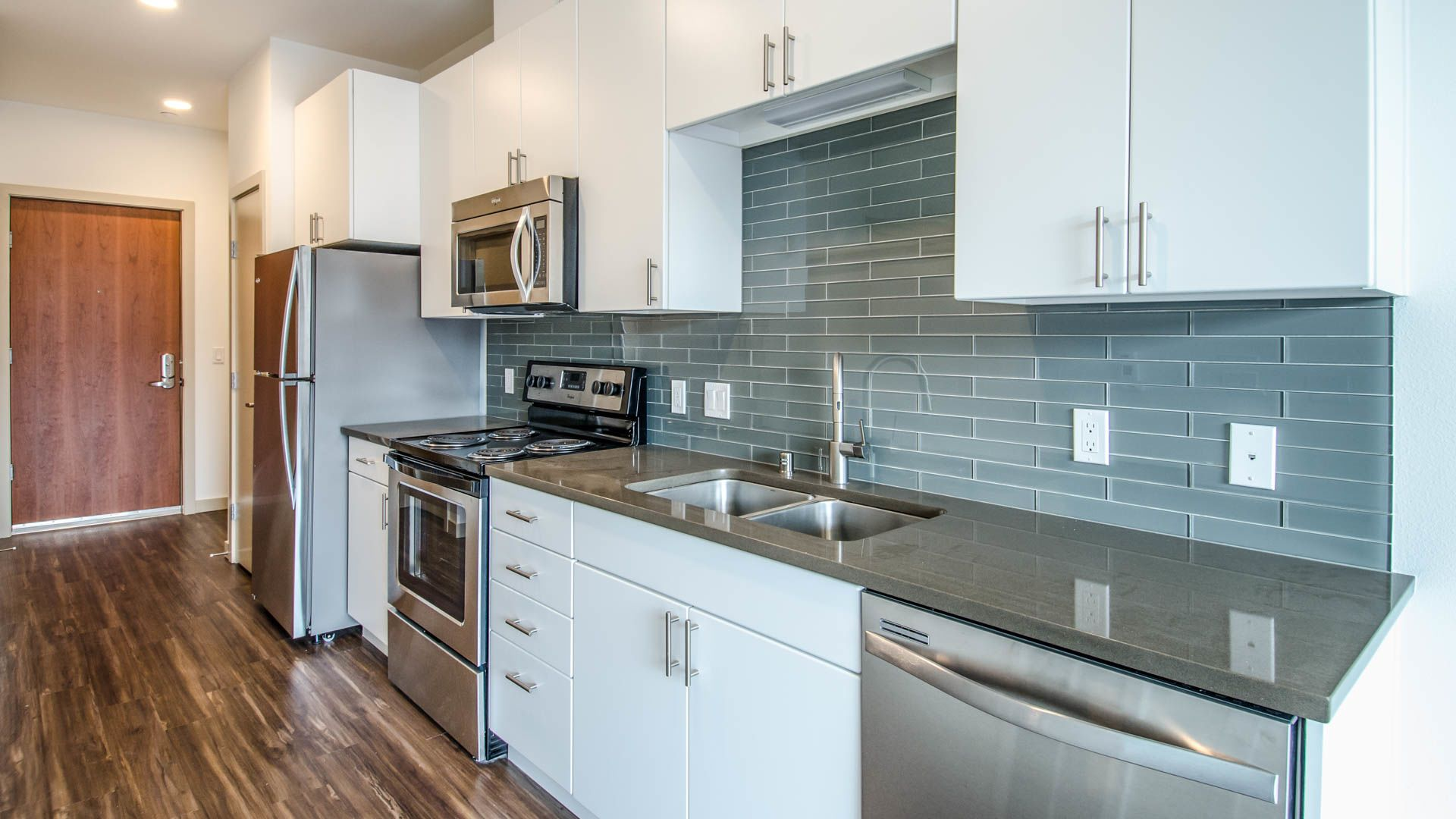 Odin Apartments In Ballard Seattle  Russell Ave NW - Apartments inside kitchen