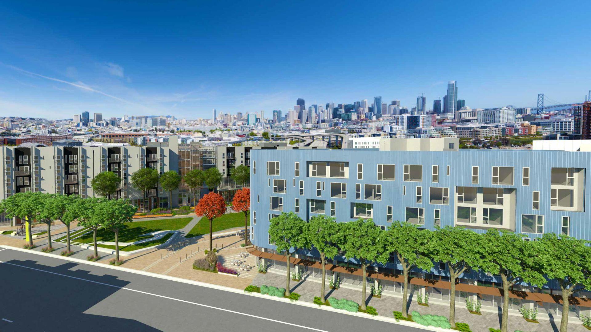 Potrero 1010 Apartments - Exterior View