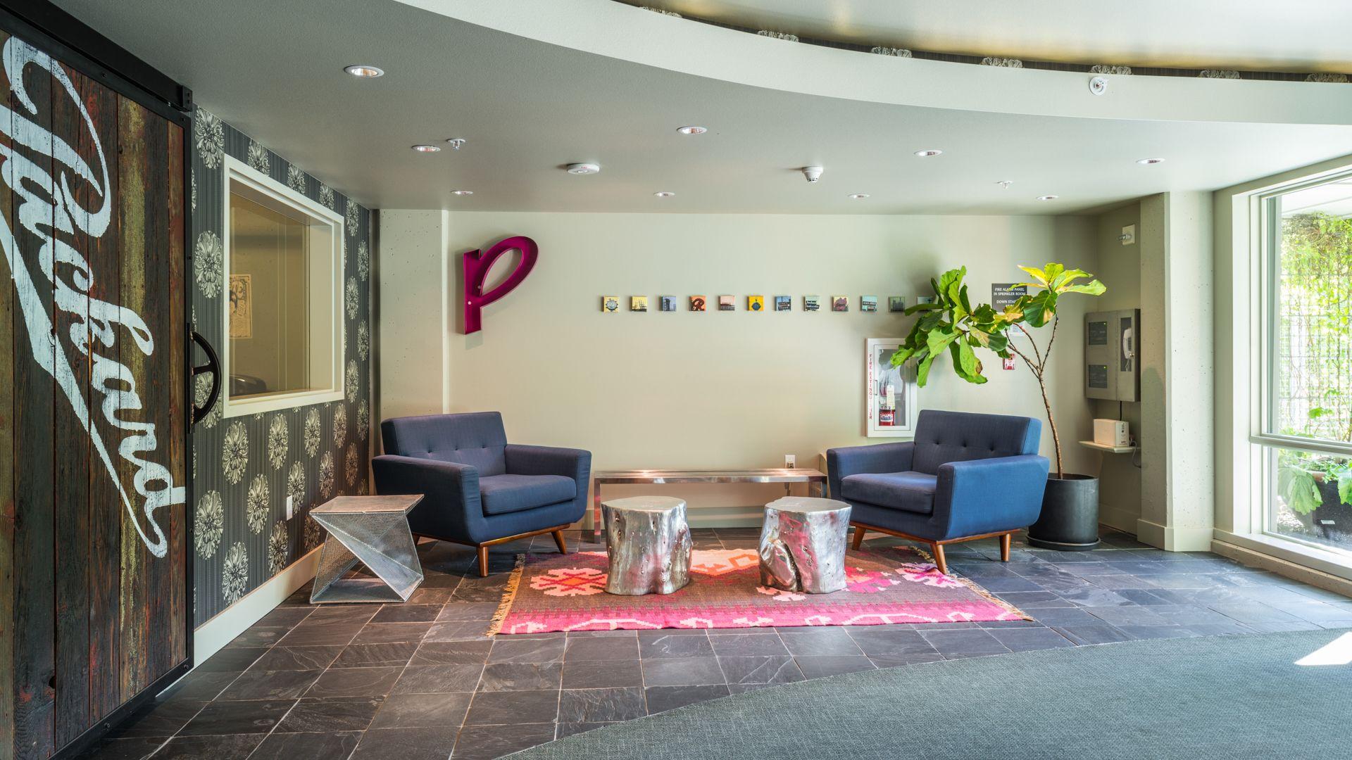 Packard Building Apartments - Lobby