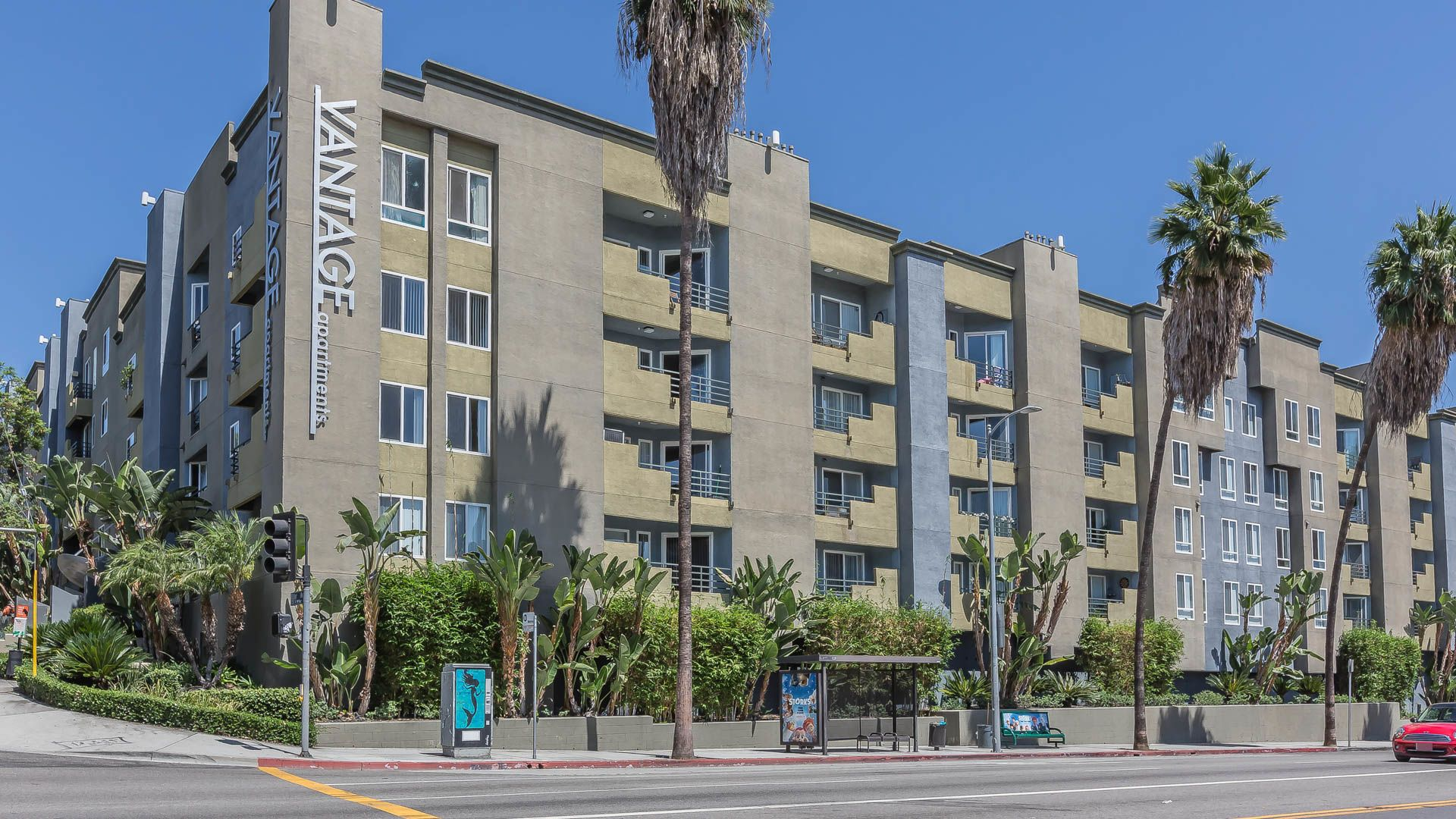 3 Bedroom Apartments Los Angeles | Vantage Hollywood Apartments Hollywood Equityapartments Com