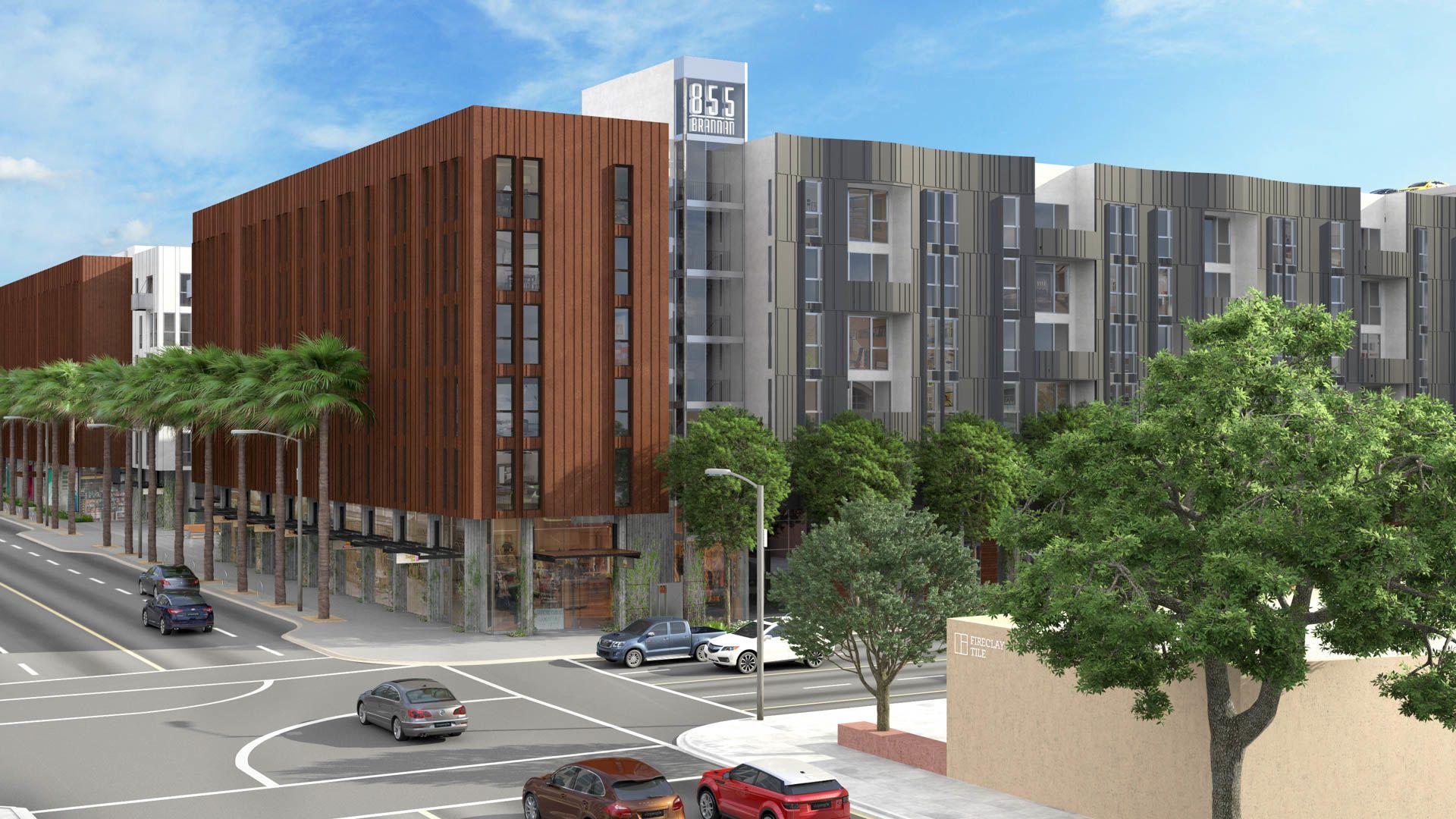 855 Brannan Apartments - Exterior