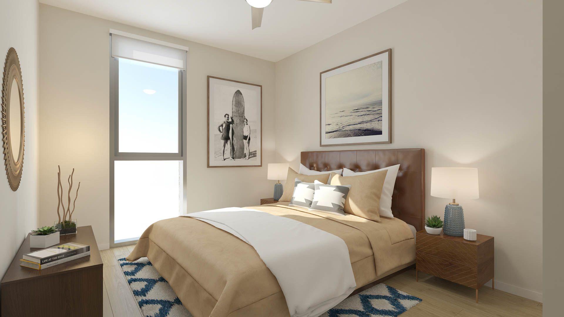 855 Brannan Apartments - Bedroom
